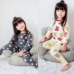 Spring Swallow - Kids Printed Pajama