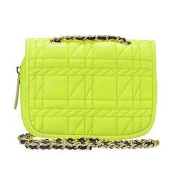 ans - Chain-Strap Quilted Pouch