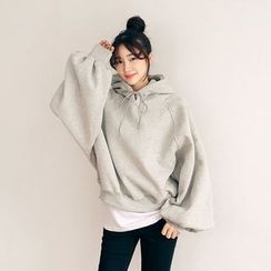 Seoul Fashion - Hooded Long-Sleeve Pullover