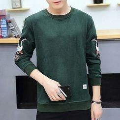 DTT - Brushed Print Sweatshirt