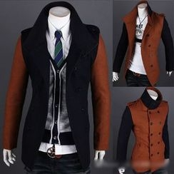 Hansel - Double-breasted Panel Jacket