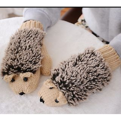 Azuki - Knit Gloves
