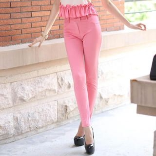 YiGelila - High-Waist Skinny Pants