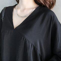 NANING9 - Overs-Sized Yoke Dress
