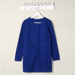 59 Seconds - Dual Pocket Shift Dress