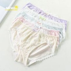 MITU - Lace Panel Panties