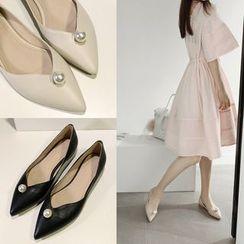 Romantina - 尖头平跟鞋