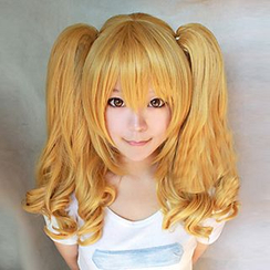 Ghost Cos Wigs - Double Ponytail Full Cosplay Wig