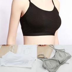 MITU - 夹棉文胸上衣