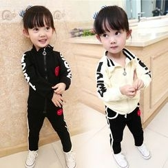 Merry Go Round - Kids Set: Zip Jacket + Sweatpants