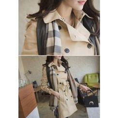 MyFiona - Double-Breasted Trench Coat