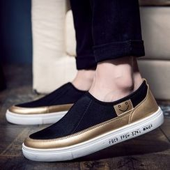 Shino - 拼接轻便鞋