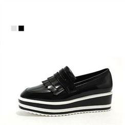 MODELSIS - Platform Loafers
