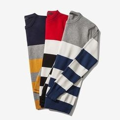 T for TOP - Striped Knit Top