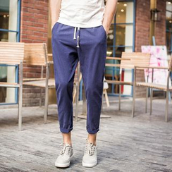 Bay Go Mall - Linen Harem Pants