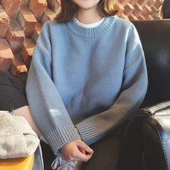 Cotton Candy - Plain Knit Top