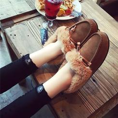 QQ Trend - 毛毛邊輕便鞋
