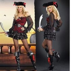 Cosgirl - Pirate Party Costume