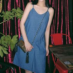 Cloud Nine - Plain Spaghetti Strap Dress