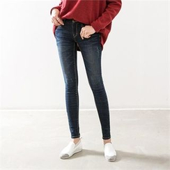 PEPER - Washed Skinny Jeans