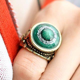 59 Seconds - Rhinestone Glitter Rings