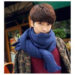 Doonie - 純色針織圍巾