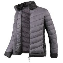 Seoul Homme - Two-Tone Padded Jacket - Lightweight