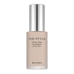 Missha - The Style Fitting Wear Foundation SPF30 PA++ (# 21 Light Beige)