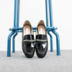 VIVIER - Chain-Detail Loafers