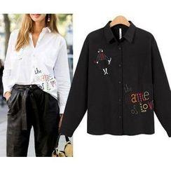 GRACI - Embroidered Shirt