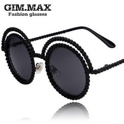 GIMMAX Glasses - Faux Pearl Sunglasses