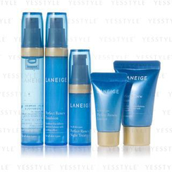Laneige - Perfect Renew Trial Kit (5 items): Cream 10ml + Emulsion 10ml + Refiner 10ml + Essence 5ml + Night 5ml