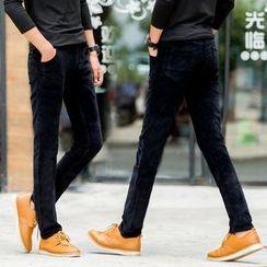 Denimic - Plain Corduroy Pants