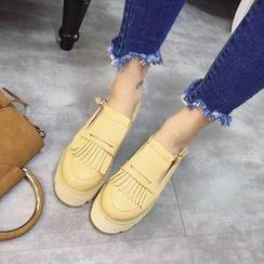 安若 - 厚底樂福鞋