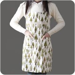 VANDO - Printed Cotton Apron