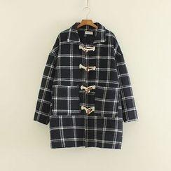 Mushi - Check Toggle Coat