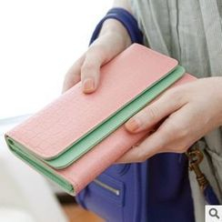Rinka Doll - Two-Tone Long Wallet