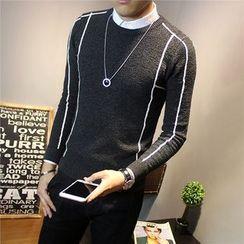 Orizzon - Contrast Trim Sweater