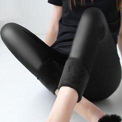 Machiga - Faux-Leather Leggings