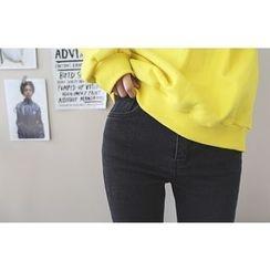 DAILY LOOK - Fray-Hem Boot-Cut Pants