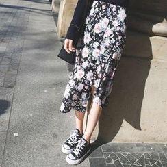 mimi&didi - Floral-Printed Skirt