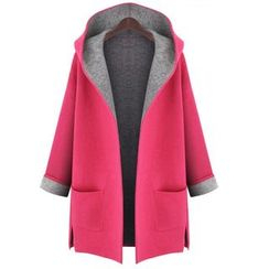 Lovebirds - Open-Front Hooded Coat