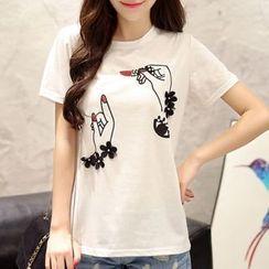 Cobogarden - Printed Short-Sleeve T-Shirt