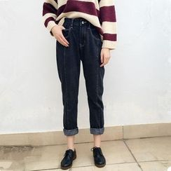 Bloombloom - Straight-Cut Jeans