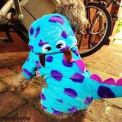 Pet Sweetie - 恐龙款狗连帽衫