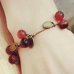 嘀咕家 - 珠飾吊飾手鐲
