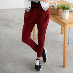 59 Seconds - Drawstring Corduroy Pants