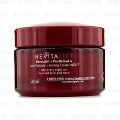 L'Oreal - Dermo-Expertise RevitaLift Anti-Wrinkle + Firming Night Cream (New Formula)