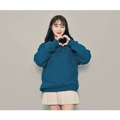 HOTPING - Lettering Cotton Pullover