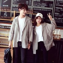 Evolu Fashion - Couple Matching Hooded Jacket